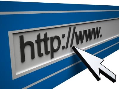 The beginning of a website URL