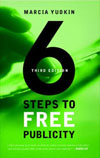 Cover of '6 Steos to Free Publicity' book