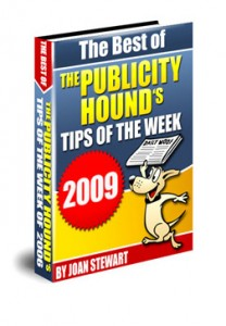 Cover of The Best of the Publicity Hound's Tips of the Week of 2009