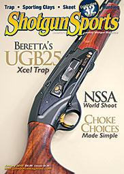 Cover of Shotgun Sports magazine