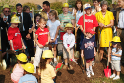 community groundbreaking in fairfax, virginia