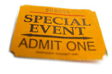 Ticket: Spcial Event Admit One