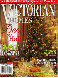 Cover of Dec. 2010 issue of Victorian Homes magazine