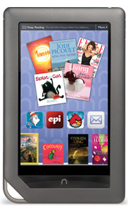 Nook reader can display your ebooks