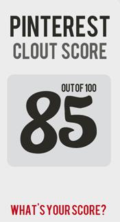 Pinterest Clout Score