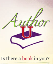author u book writing and marketing logo