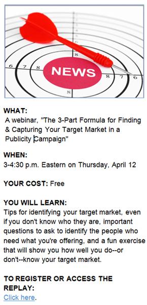find your target market for news