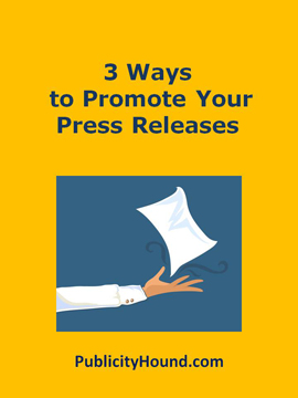 3 ways to promote your press releases
