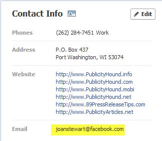 joan stewart facebook contact info