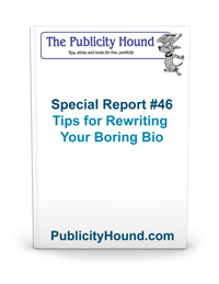 Special Report Cover for How to Rewrite Your Boring Bio