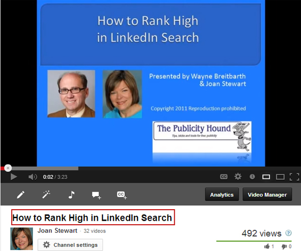 How to Rank High in LinkedIn Search