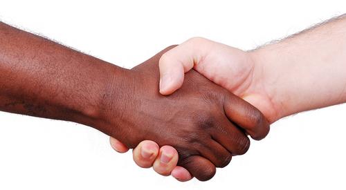 handsshaking for corporate sponsorship