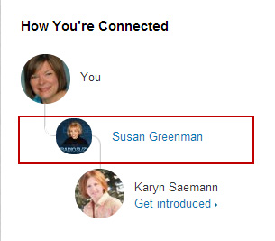 How to ask a first-degree connection on LinkedIn to introduce you to a book reviewer