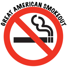 Tips list on how to stop smoking naturally piggybacks onto Great American Smokeout