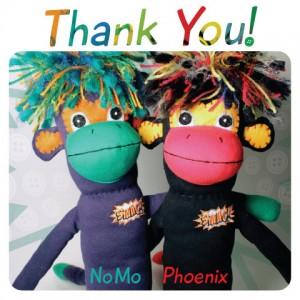 sock monkeys for cancer crowdsourcing project