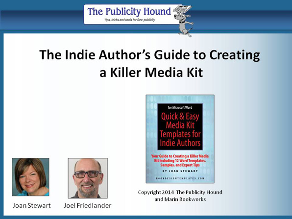 The Indie Author's Guide to Creating a Killer Media Kit Webinar