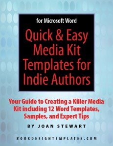 Author Media Kit Templates for a Book