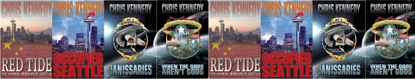 Chris Kennedy sci-fi novels