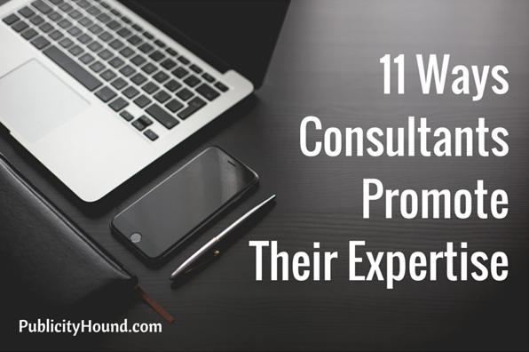 11 WaysConsultantsPromoteTheir Expertise2