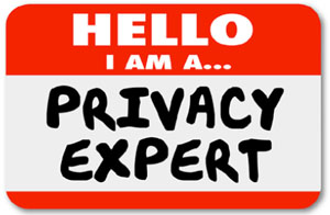 Privacy Expert nametag