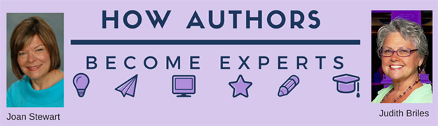 How Authors Become Experts with Joan Stewart and Judith Briles