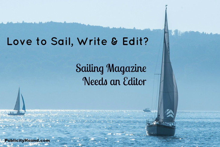 Sailing Magazine needs an editor