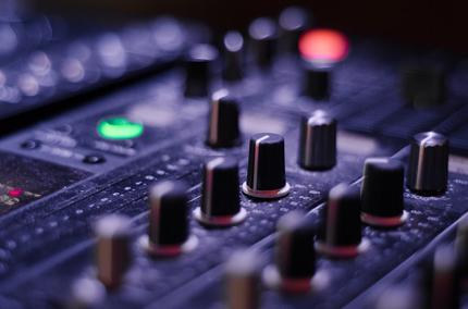 mixer soundboard