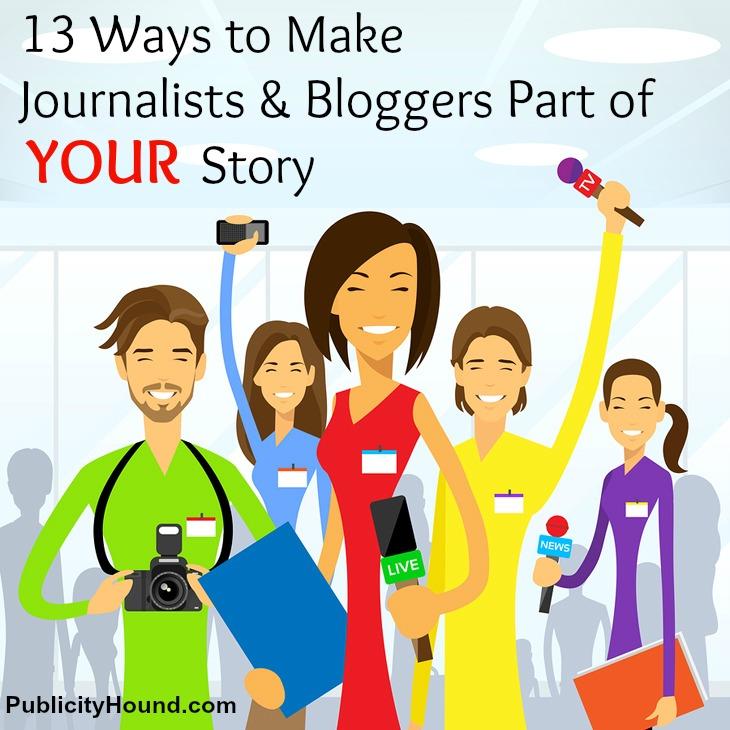 13 Ways to Make Journalists