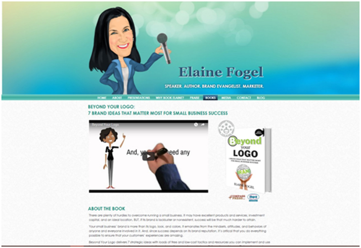 Elaine Fogel web page