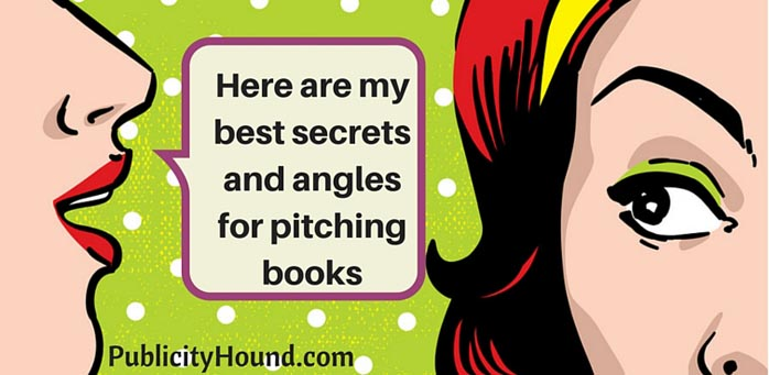 How to pitch fiction and nonfiction books