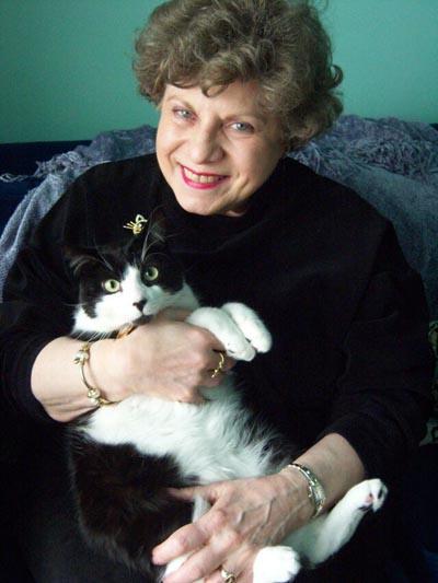 Barbara Floria Graham with Simon Teakettle