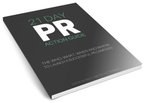 PR how-to book