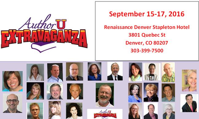 Author U Extravaganza speakers