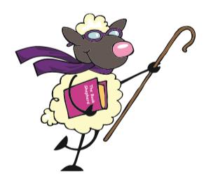 bloopers -- sheep illustration