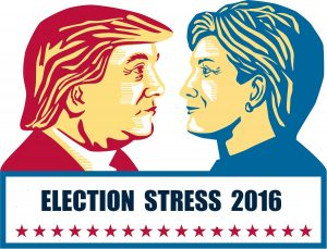 Election Stress 2016 Clinton & Trump