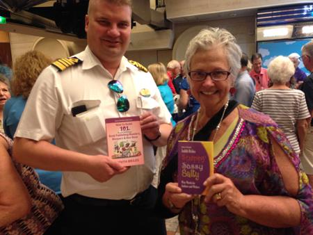 Judith Briles and Capt. Tony