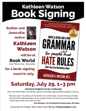 Book Signing Poster